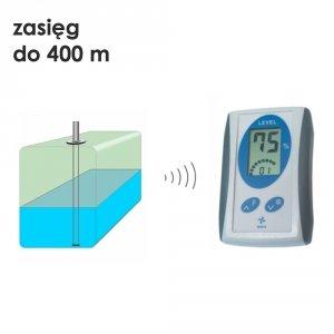 Navis LW C12 miernik poziomu cieczy pojemnościowy bezprzewodowy do 400 m ekonomiczny