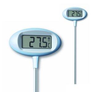 TFA 30.2024 ORION termometr ogrodowy elektroniczny z zegarem duży 80 cm
