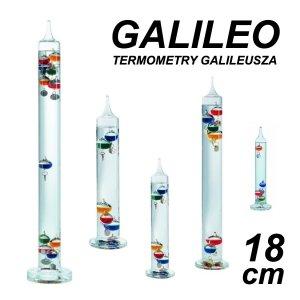 TFA 18.1010 GALILEO termometr Galileusza 18 cm kolorowy 4 kolorowe kulki REKLAMOWY