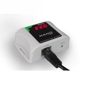 Inveo NanoOut konwerter sygnału Ethernet do przekaźnik miniaturowy moduł wyjściowy Ethernet