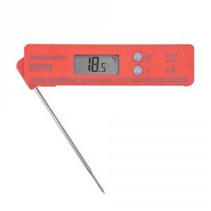 Termometr szpilkowy składany DT-12 elektroniczny termoparowy kieszonkowy krótki czas reakcji
