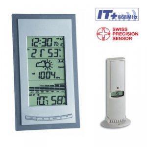 TFA 35.1078 DIVA PLUS stacja pogody bezprzewodowa z czujnikiem zewnętrznym błyskawiczna transmisja