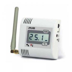 APAR AR436 czujnik temperatury i wilgotności bezprzewodowy przemysłowy termohigrometr wewnętrzny naścienny LCD radiowy