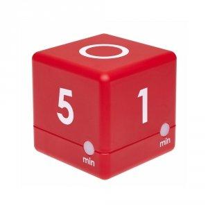 TFA 38.2039 CUBE-TIMER minutnik elektroniczny 1-2-3-5 min do nauki zabawy gry