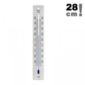 TFA 12.2046 termometr zewnętrzny cieczowy ścienny metalowy 280 mm