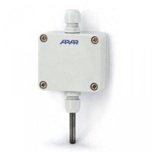 APAR AR553 termometr przemysłowy wyjście analogowe czujnik temperatury rezystancyjny Pt100