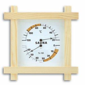 TFA 40.1008 termohigrometr do sauny czujnik temperatury i wilgotności mechaniczny 220 mm