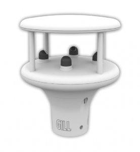 Wiatromierz ultradźwiękowy GILL MaxiMet GMX 200 czujnik prędkości i kierunku wiatru anemometr Modbus