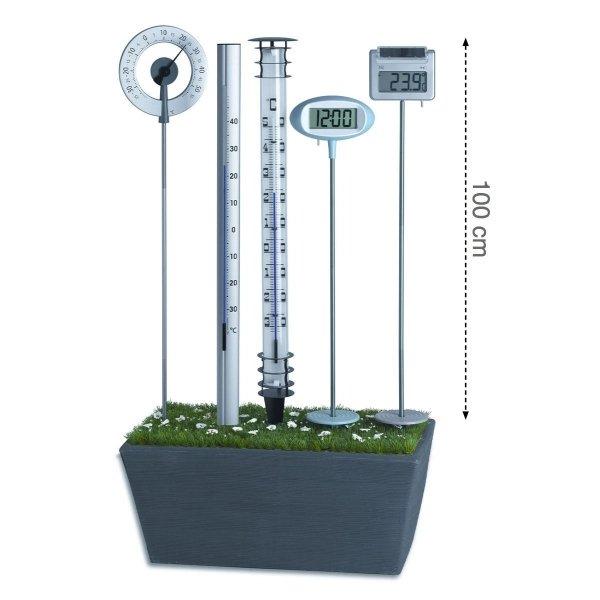 TFA 12.2038 GULLIVER termometr ogrodowy cieczowy zewnętrzny aluminiowy bardzo duży 121 cm