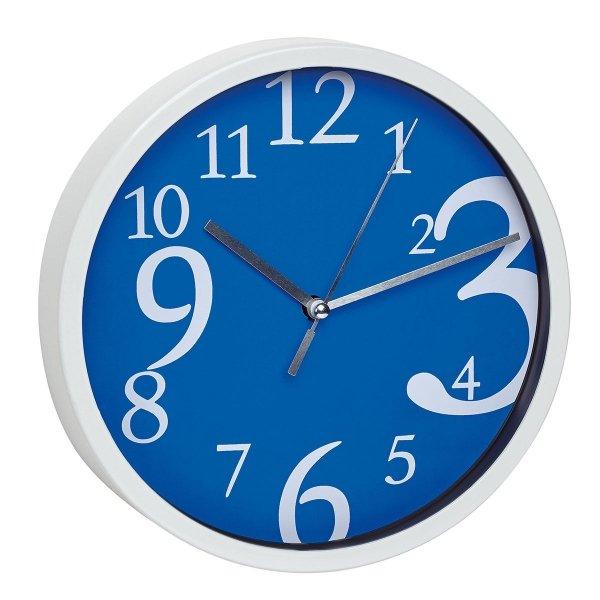 TFA 60.3034 zegar ścienny wskazówkowy płynąca wskazówka średnica 20 cm