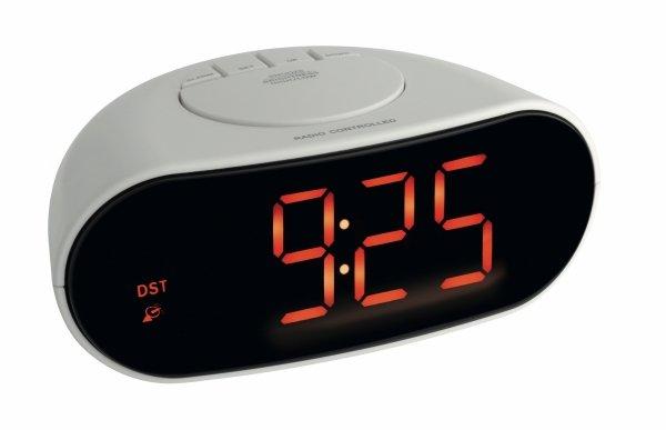 TFA 60.2505 budzik biurkowy zegar elektroniczny LED