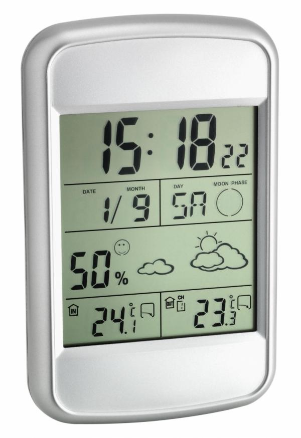 TFA 35.1123 LOOK stacja pogody bezprzewodowa z czujnikiem zewnętrznym