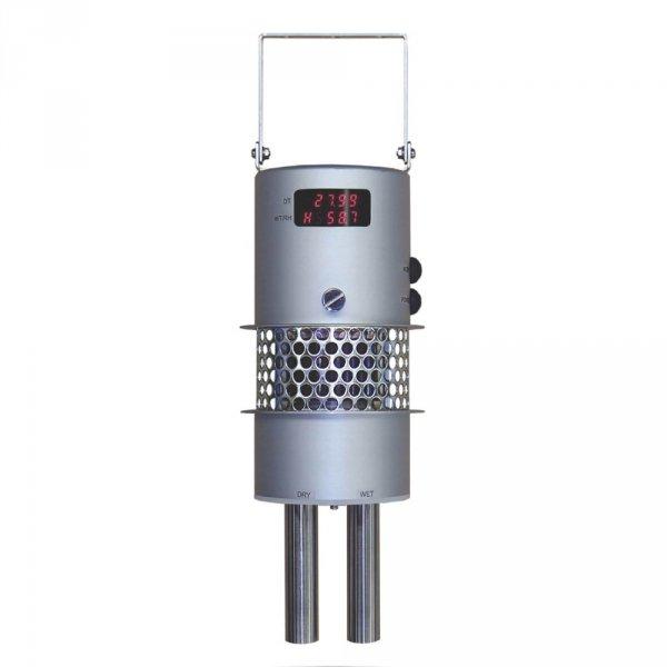Psychrometr Assmanna aspirowany JS-410 profesjonalny elektroniczny Pt100 rejestrator danych