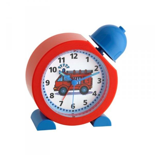 TFA 60.1011.05 STRAŻ budzik biurkowy zegar wskazówkowy dziecięcy
