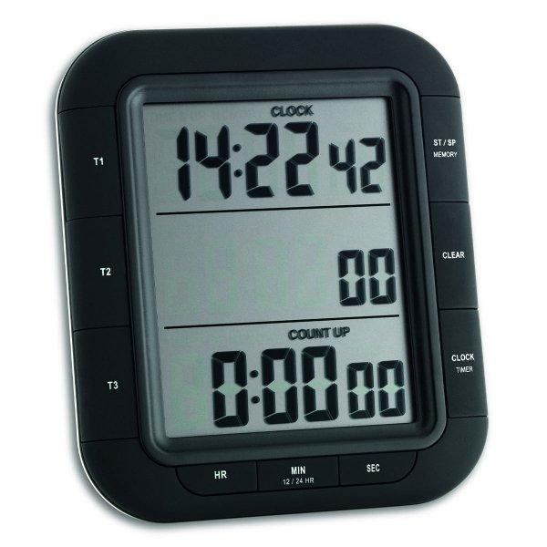 TFA 38.2023 TRIPLE TIME XL minutnik elektroniczny z funkcją stopera trzy czasy odliczania