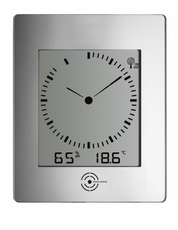 TFA 60.4507 zegar ścienny z termohigrometrem