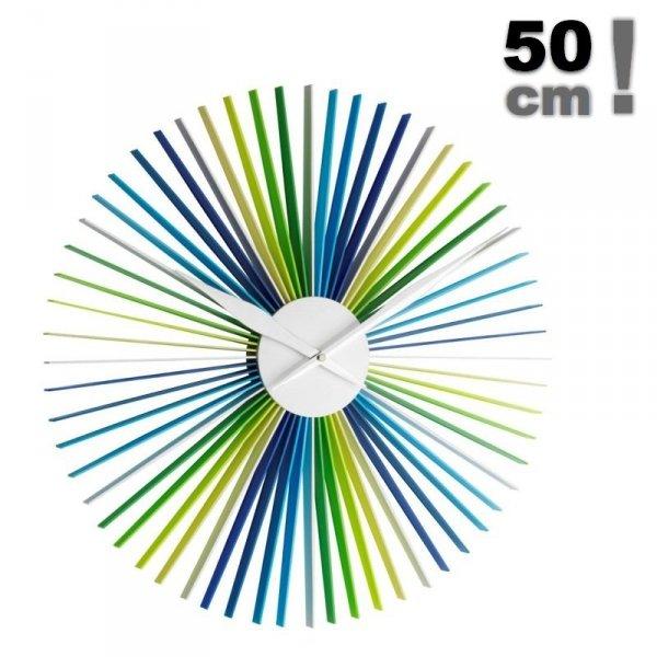 TFA 60.3023 DAISY zegar ścienny wskazówkowy XXL 50 cm