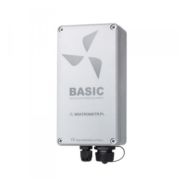 Rejestrator danych 2-kanałowy PM Ecology BASIC rejestrator prędkości i kierunku wiatru do przydomowej turbiny wiatrowej