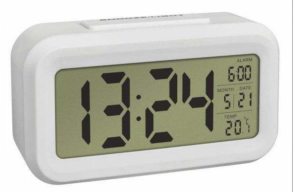 TFA 60.2018 LUMIO budzik biurkowy zegar elektroniczny