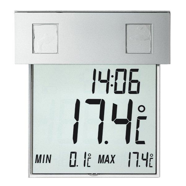 TFA 30.1035 VISION SOLAR termometr elektroniczny okienny max/min przyklejany podświetlany