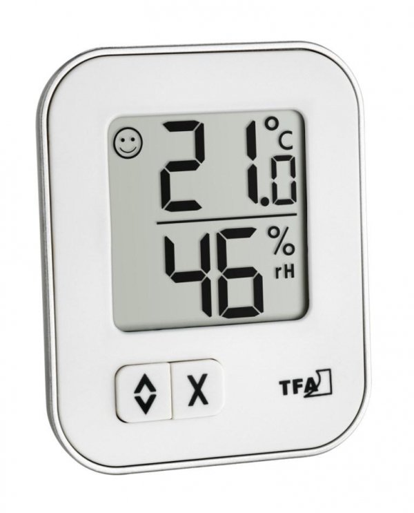Termohigrometr domowy TFA 30.5026 MOXX elektroniczny wewnętrzny