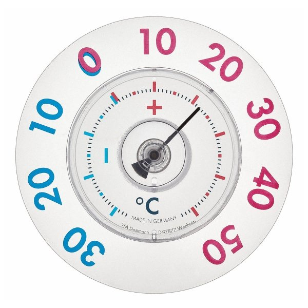 TFA 14.6014 TWATCHER XL termometr okienny mechaniczny zewnętrzny na przyssawkę duży
