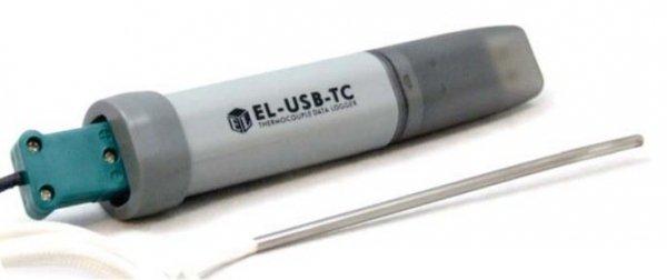 Rejestrator temperatury Corintech USB-TC data logger USB termometr z sondą termoparową typu K