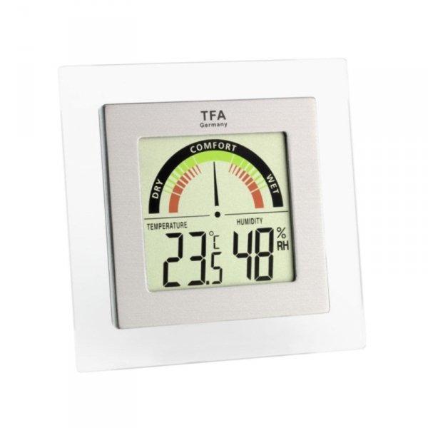 TFA 30.5023 termohigrometr domowy elektroniczny wewnętrzny