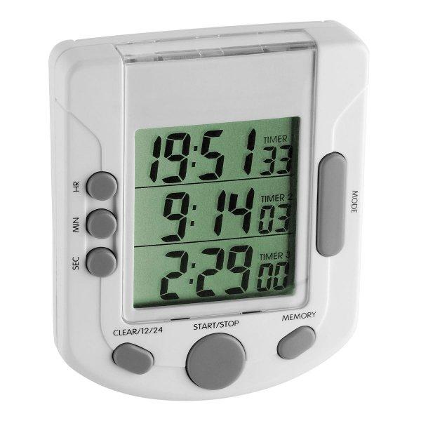 TFA 38.2020 TRIPLE TIME minutnik elektroniczny z funkcją stopera trzy czasy odliczania