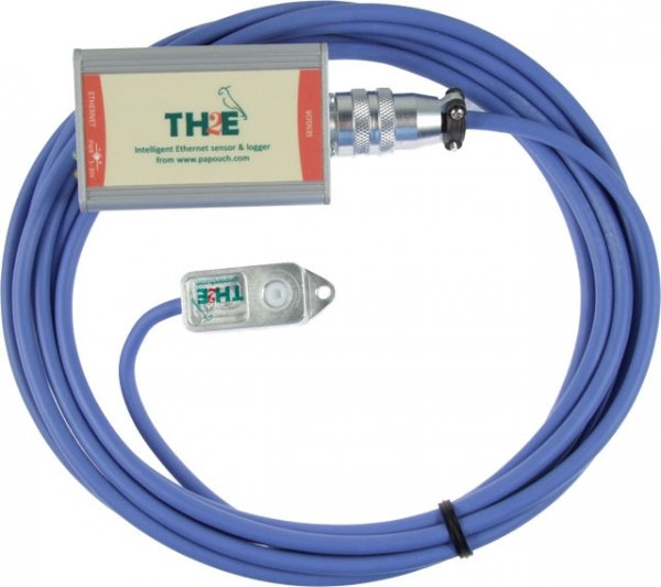 Papouch TH2E moduł pomiarowy internetowy Modbus TCP, Ethernet, LAN, IP