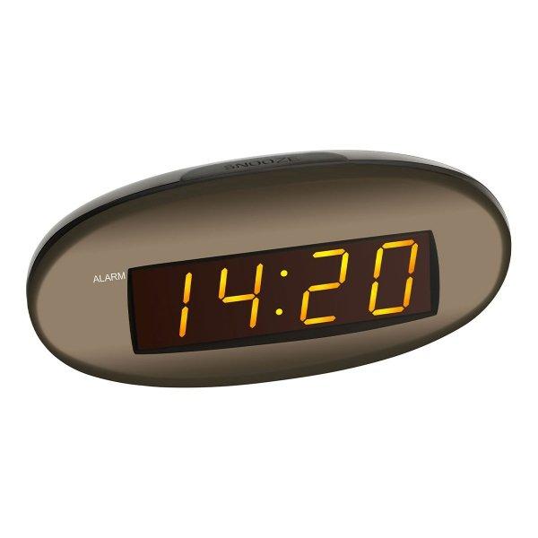 TFA 60.2005 budzik biurkowy zegar elektroniczny LED