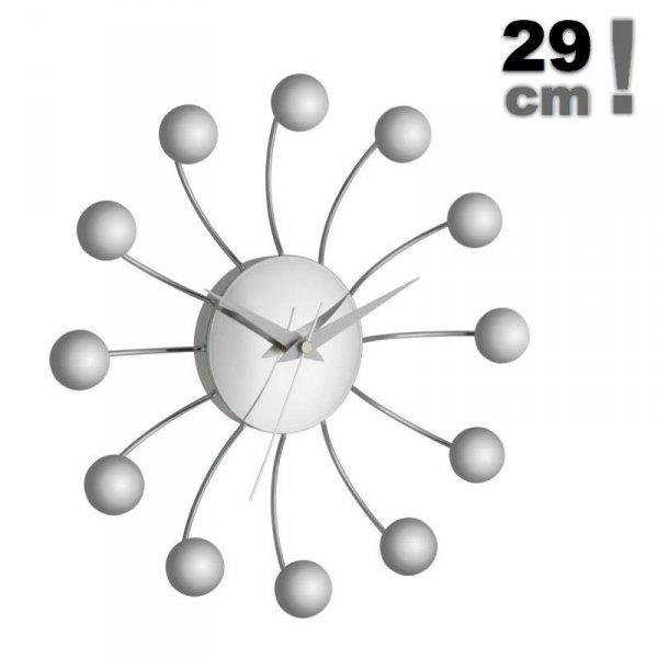 TFA 60.3010 SPIDER zegar ścienny wskazówkowy 29 cm