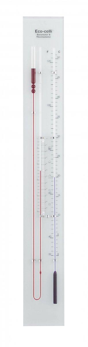 Barometr ścienny cieczowy TFA 29.1007 ECO-CELLI z termometrem 98 cm