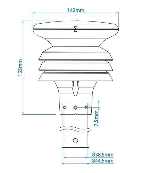 Termo-higro-barometr GILL MaxiMet GMX 300 stacja meteorologiczna Modbus