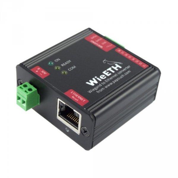 Papouch WieETH Wiegand konwerter przemysłowy do Ethernet