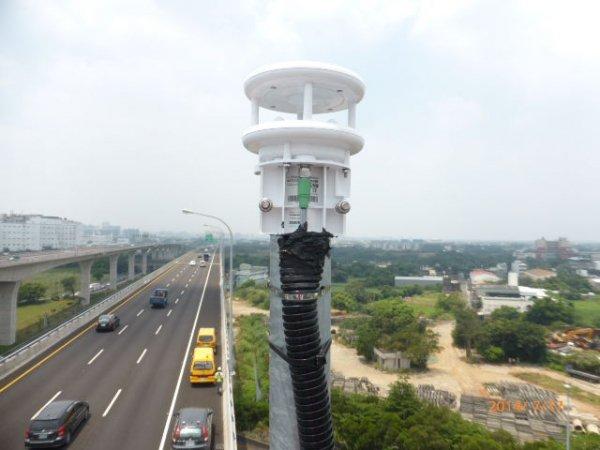 Lufft WS200 wiatromierz ultradźwiękowy czujnik prędkości i kierunku wiatru anemometr przemysłowy Modbus