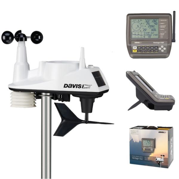 Stacja meteorologiczna bezprzewodowa Davis 6250 Vantage Vue półprofesjonalna - zestaw podstawowy