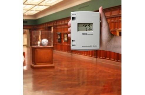 Rejestrator temperatury i wilgotności HOBO U14-001 z wyjściem przekaźnikowym (alarm) termohigrometr z wewnętrznymi czujnikami i wyświetlaczem wewnętrzny