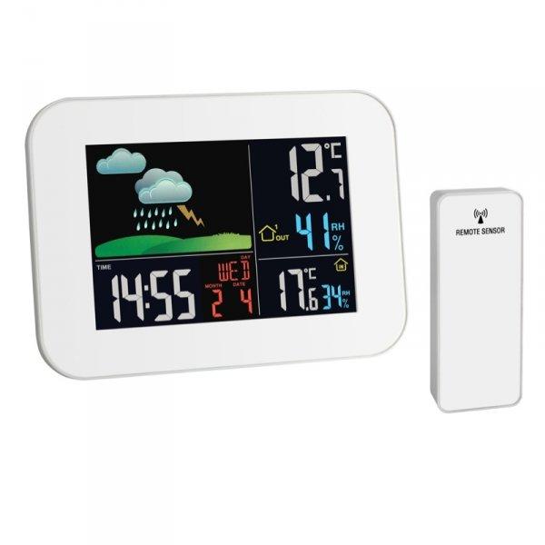 Stacja pogody bezprzewodowa TFA 35.1136 PRIMAVERA z czujnikiem zewnętrznym
