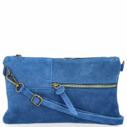 Listonoszka Skórzana VITTORIA GOTTI Made in Italy VPOS8 Jeans