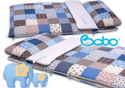 Śpiwór 155x70 zima/lato patchwork