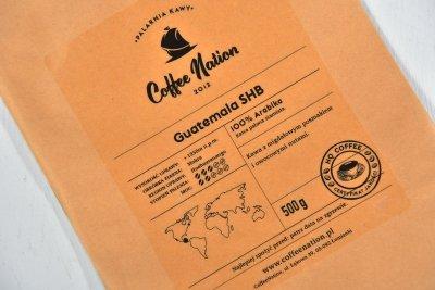 GUATEMALA 500g - 100% Arabika