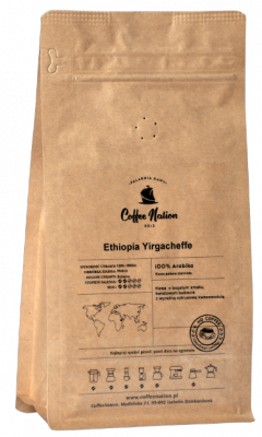 ETHIOPIA YIRGACHEFFE  250g -100% Arabika
