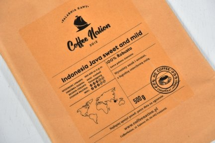 JAVA INDONEZJA 1000g  -100% Robusta