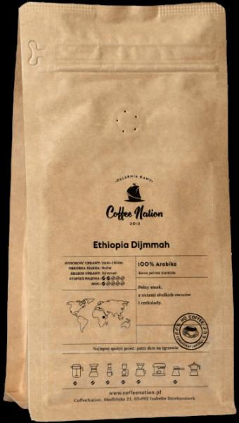 ETHIOPIA DJIMMAH 1000g  -100% Arabika