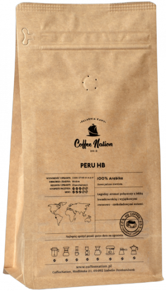PERU 500g - 100% Arabika