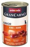 Animonda GranCarno Junior Rind Huhn Wołowina + Kurczak puszka 400g