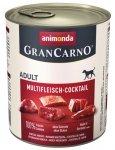 Animonda GranCarno Adult Multifleisch Mix Mięsny 800g