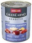Animonda Gran Carno Sensitiv Jagnięcina + ziemniaki 800g