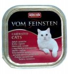 Animonda vom Feinsten Castrated Cats z Indykiem i Pomidorem tacka 100g